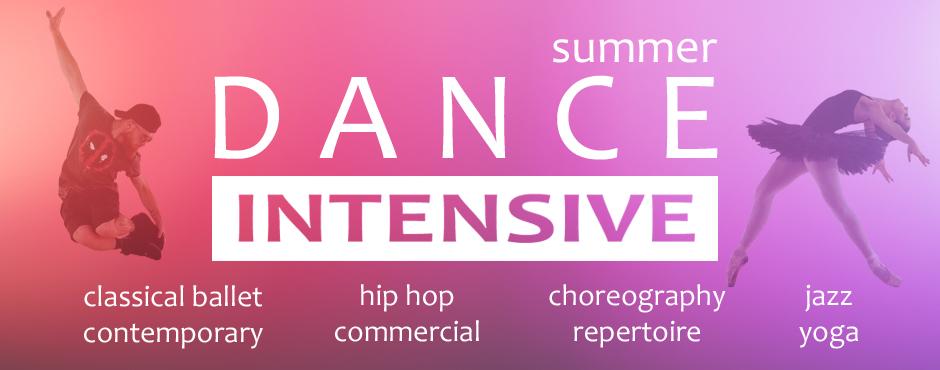 Register now for Summer Dance Intensive 2019